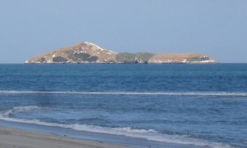 Isla Farallón del Chirú, Pacific coast of Panama