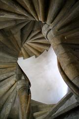 Gothic double spiral staircase - Graz (Thomas Reichart ) Tags: sterreich austria gothic staircase graz spiralstaircase burg wendeltreppe doublespiralstaircase anglesanglesangles doppelwendeltreppe