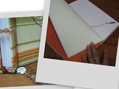 Caderno de artista para a Sam