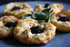 Blackberry Tarts (cheezemaster) Tags: california food blog yummy sandiego tasty foodporn recipes foodblog whatwereeatingcom