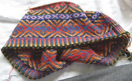 Autumn Color Cardigan - April 14, 2007