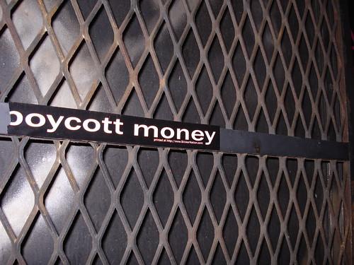 boycott money