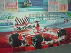 10.法拉利賽車看板