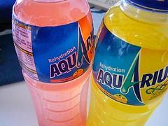 AQUARIUS, Grapefruit and Orange taste