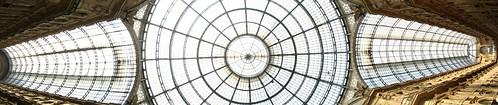 Galleria Vittorio Emanuele II roof, Milano, Italy