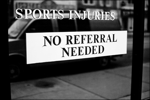 Sports Injuries: No Referral Needed!
