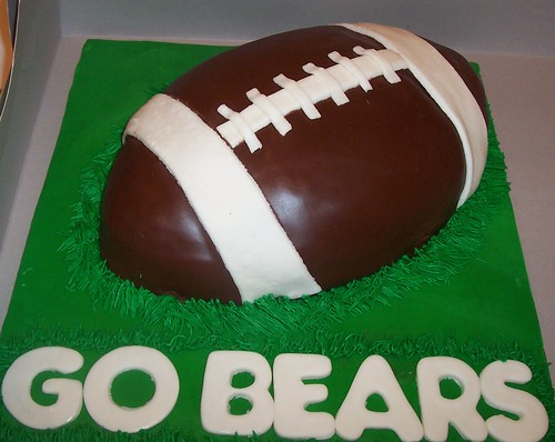 Creative Football Cakes