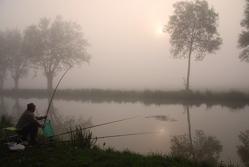 A la pêche
