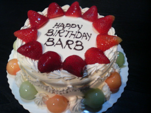 Happy Birthday Barb