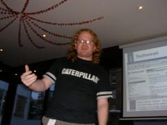 Me doing the Powerpoint Karaoke