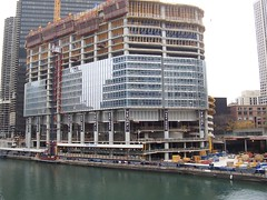 Trump (Alissa Marie) Tags: chicago construction trump