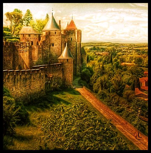Carcassonne Walk