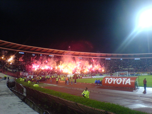 Red Star fans