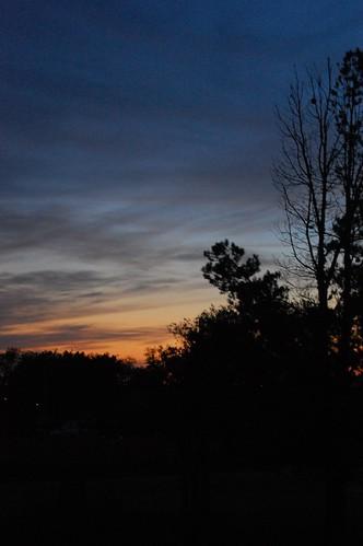 ah, the setting sun