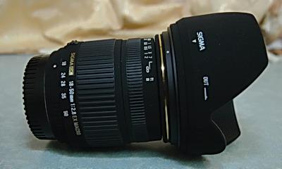 Sigma 18-50 mm F2.8 Macro01