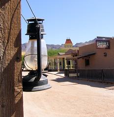 Street Light (ShacklefordPhotoArt) Tags: windows arizona building doors desert tucson oldbuilding oldtucson moviestudio