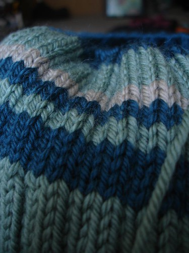 Tubey stripes
