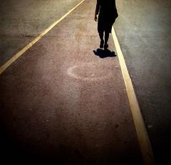 Walking... (Atilla1000) Tags: road yellow walking bravo explore minimalism flickrmeeting interestingness6 magicdonkey artlibre fotorafkraathanesi superaplus aplusphoto 9stanbulumas istanbulbulusmasi