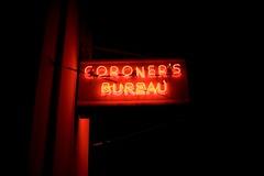 Coroner's Bureau, Plate 3