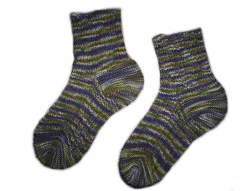 Top-down Inside Out Socks