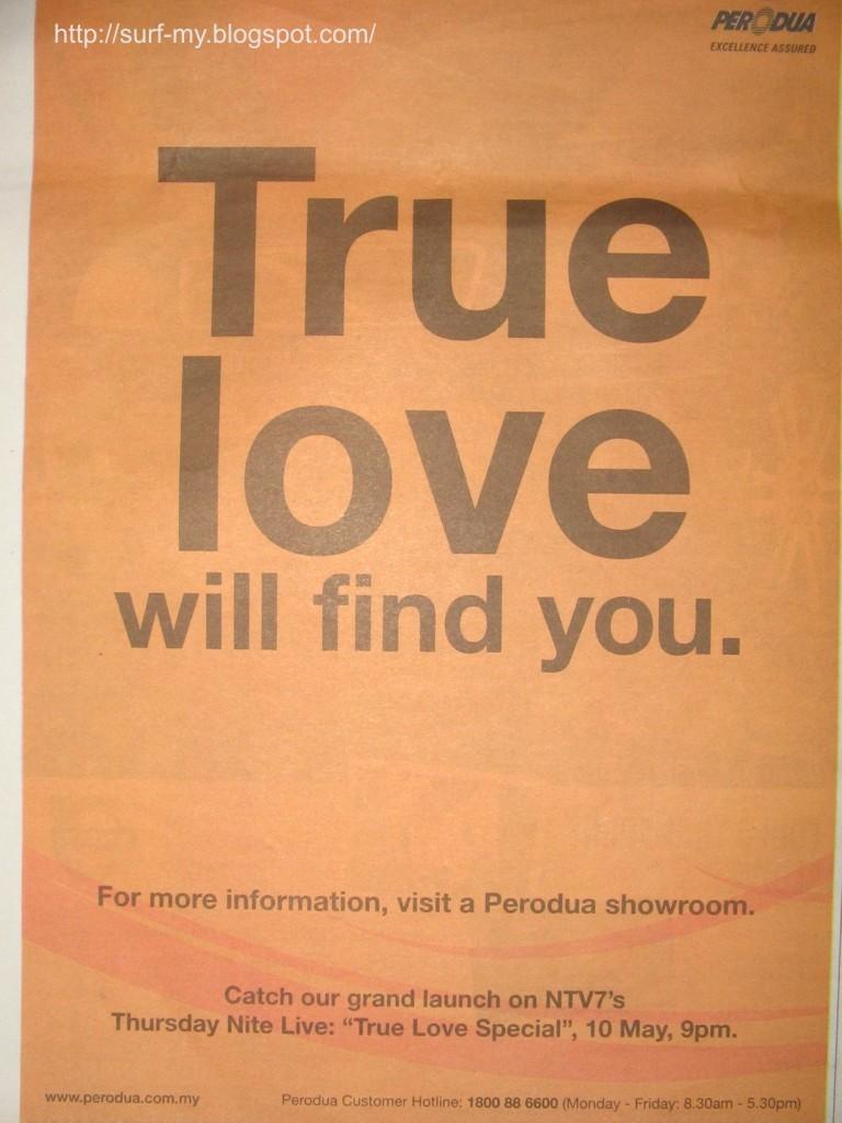Perodua Viva Paper Advertisement