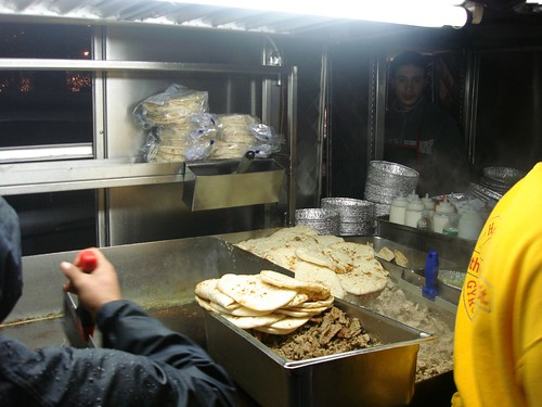"The ""Famous"" Chicken & Rice Cart at 53rd & 6th Ave."