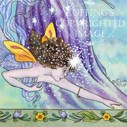 Moon and Star ER12 Fairies by Elizabeth Ruffing