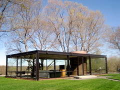 Philip Johnson's Glass House, Photo by Mel K