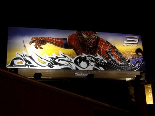 Spider-Man 3 Billboard