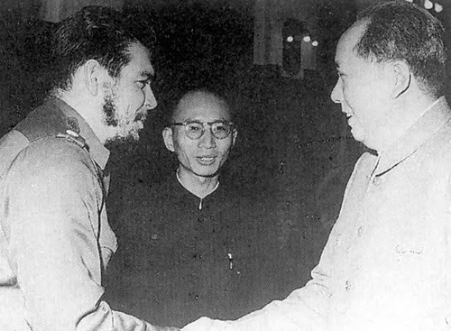 Che Guevara and Chairman Mao during the Cuban-Argentine revolutionary's visit to China in 1964. A high-level delegation from the Communist Party of China was in Cuba in April 2007. by Pan-African News Wire File Photos
