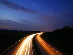 My contribution for ... (mesiplusminusmesi) Tags: longexposure light night germany motorway saxony autobahn portfolio interestingness69 i500 stollberg ultimateshot 24hoursofflickr a72 zeisscontest2010