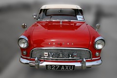 Mk2 Ford Consul,Felixstowe (Richie Wisbey) Tags: red color colour classic crimson car altered vintage scarlet suffolk classiccar flickr rally rich richie homemade prom richard promenade dads reddy felixstowe 1960 consul 1703 picturesof lowline pictureof badgebar wisbey ipswichtofelixstowe mk2consul 1703tc richardwisbey richiewisbey richwisbey wisbeyflickr wisbeyphotography richiewisbeycollection