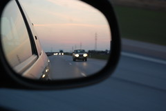 Volvo in the mirror - by Jens Dahlin