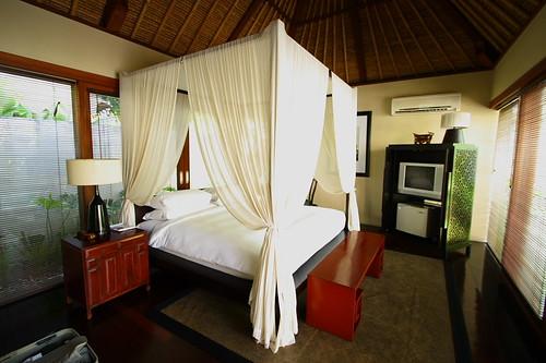 Bed room in private villa @ Kayumanis Nusa Dua