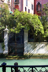 Rita Crane Photography:  Garden Gate & Courtyard along the Canals, Venice (Rita Crane Photography) Ta