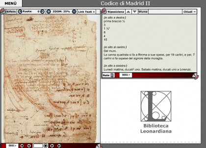 archivo digital leonardo da vinci