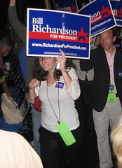Hottest campaign staff/volunteer - Richardson