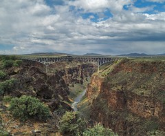 Gorgeous Gorge (benrobertsabq) Tags: newmexico cloudy gorge taos nm naturesfinest