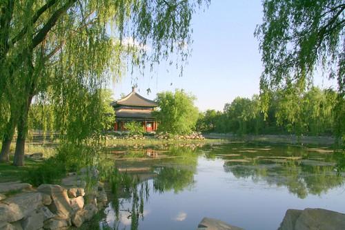 Yuan Ming Yuan reflections 2