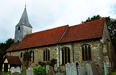 St Mary's, Kemsing - post-processed