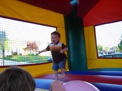 Parker jumping