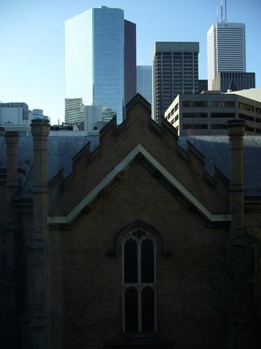 Toronto Hotel Room View