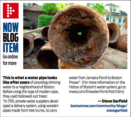 BostonNOW Water Pipe