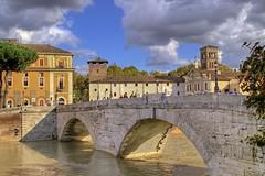 Roma. Ponte Cestio