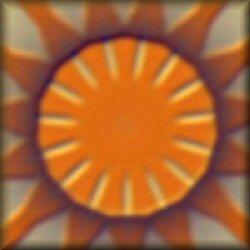 Setting Sun Mandala
