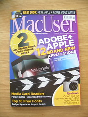 MacUser front page (bencounsell) Tags: apple magazine mac software article printed creating themes macuser masterclass realmac rapidweaver