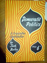Democratic Poltics 1960