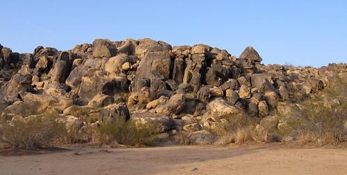 Boulder heap