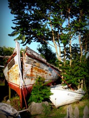 Wooden Ships (Megan | When Harry Met Salad) Tags: rural boat photo currituck curritucknc ruralnc northeasternnc