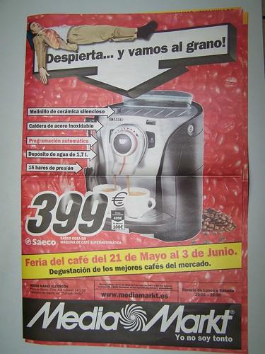 Especial cafeteras del Media Markt